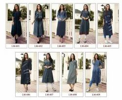 Lymi Originals Diva Fancy Denim Kurties Ready to Wear Collection