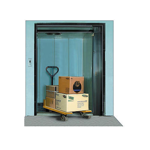 Stainless Steel Industrial Goods Elevator, Capacity: 5-10 Ton