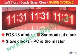LED Lan Clock