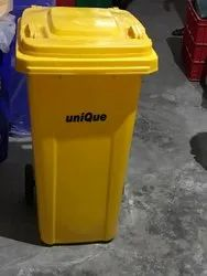 120 Lit  2 Wheel Garbge Dust Bin
