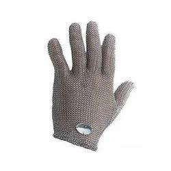 Unisex Large Metal Mesh Gloves