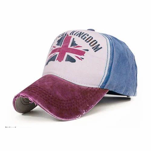 f0aa2415606 Union Jack UK Flag Print Rugged Baseball Cap at Rs 450  piece ...