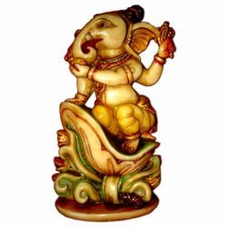 Resin Carving Culture Ganesha Statue