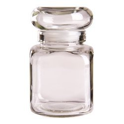 Glass Clear 130ml Candle Jar, Shape: Cylindrical