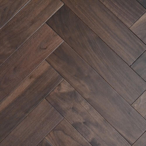 What Is Wooden Flooring: Dark Brown Parquet Wooden Flooring, Rs 225 /square Feet, A