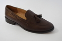 Men's Leather Shoes Leather Winter Casual / British Loafers & Slip-Ons Height-increasing Black / Win