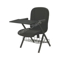 Black Writing Pad Chair