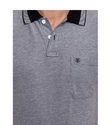 Classic Polo Black Solid Slim Fit Polo Cotton T-Shirt