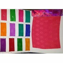 Satin Chiffon Butta Dyed Fabrics