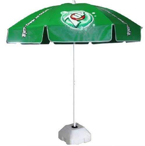 2838b923b6107 Green Nylon Printed Business Promotion Umbrella, Rs 800 /piece | ID ...