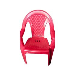 With Hand Rest (Arms) Colored Plastic Chair
