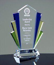Leadership Crystal Trophy