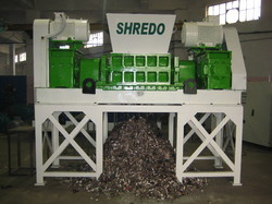 Municipal Solid Waste Shredder