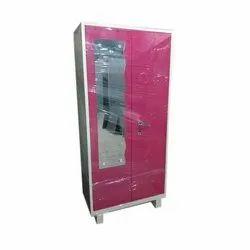 2 Door Iron Cupboard, for Bedroom, Size/Dimension: 6 Feet