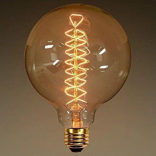 Glitz Round Tungsten Filament Lamp 60 W Rs 350 Number