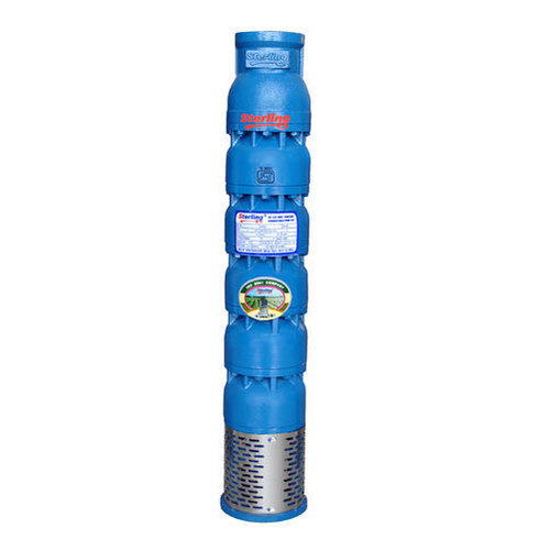 Stainless Steel 5 Stage Sterling Submersible Pump, 35a Degree C, 2880 Rpm