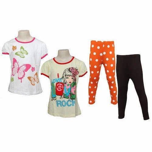 9e0780740 Little Star Girls Tops With Leggings, Dreamworks Lifestyle   ID ...