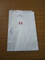 White Paper Pouch for Medical and Soap Wrap Usage S1