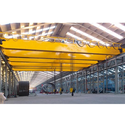 Quick-lift Yellow Traveling Crane, Capacity: 10-15 Ton And 15-20 Ton