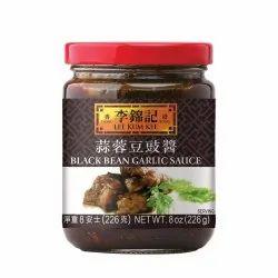 LKK Black Bean Garlic Sauce 226 Gram, Packaging Type: Glass Bottle
