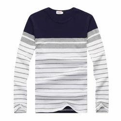 Men Cotton Casual T Shirt, Size: Medium And XL