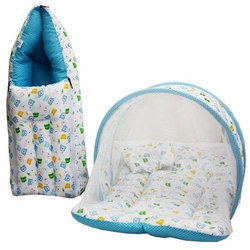 Cotton And Polyester Baby Bed Set