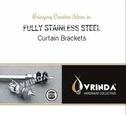 S.S Curtain Brackets