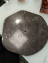 SGM Grey Marble Odd Shape Table Top