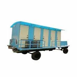FRP Mobile Toilet Vans