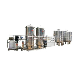Stainless Steel Industrial Reverse Osmosis Plant, Semi-Automatic