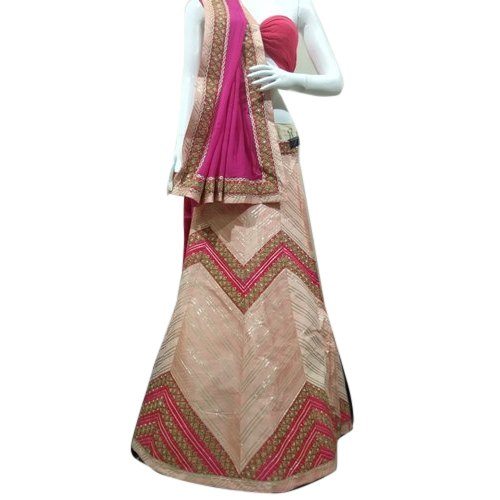 A K Fashion Semi-Stitched Designer Bridal Lehenga, Packaging Type: Plastic Bag