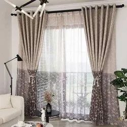 Polyester Up To 8 Feet Eyelet Door Curtain