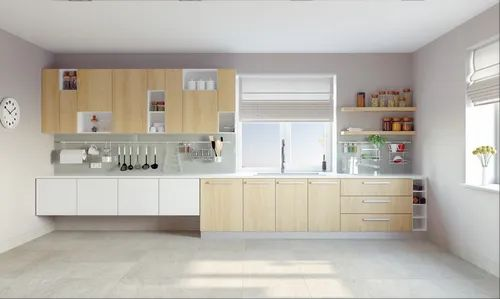 Customized Modular Kitchen Open Kitchen Store Room Unicap