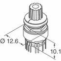 Tosoku Rotary switch MR-K112-015G 12 Position Tosoku