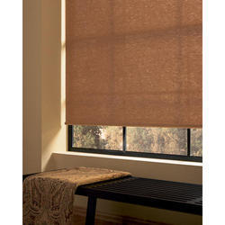 Designer Roller Shade Close-up Blinds