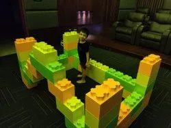 Double Stud Blocks, Size/dimension: 30 Cms * 15 Cms * 15 Cms