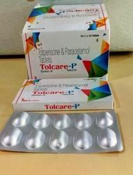 Tolperisone And Paracetamol Tablets