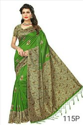 Women's Fashionable Silk Saree, 6.3 M (with Blouse Piece)