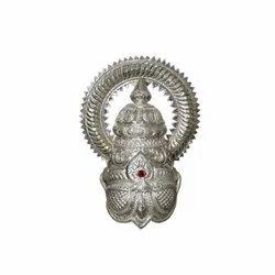 Vinnayagar Silver Kireedam / Ganesh / Ganapathy / Pillaiyar Crown Ganpati / Ganesha Kireedam - 2 Kg