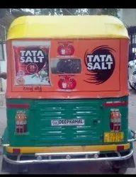 Auto Rickshaw Branding Hood