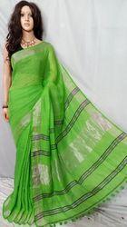Pure Handloom Linen Saree