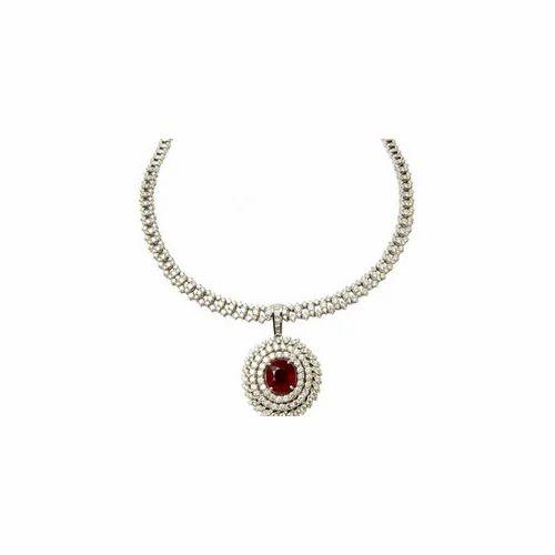 Diamond Jewelry & Ruby Diamond Jewelry Necklaces