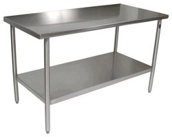 Stainless Steel Silver WORK TABLE