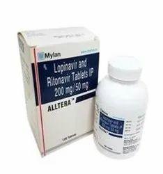 Alltera  (Lopinavir & Ritonavir) Tablets
