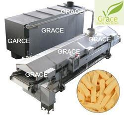 Oil Curtain Fryer Machine
