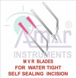 Ophthalmic MVR Knives