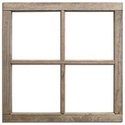 Plain Window Frame