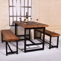 Wooden Rectangular Dining Tables