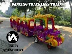Dancing Trackless Battery Train