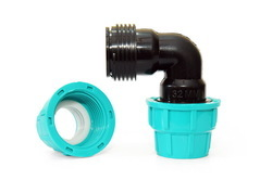 PP Compression Pipe Elbow